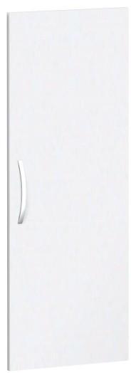 Flügeltür für Korpusbreite 40cm, 3 OH, Weiß