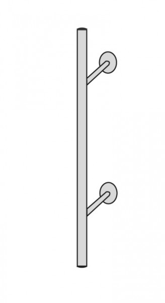 Arte Abschlusselement 6850 für Garderobenelement Arte 6861