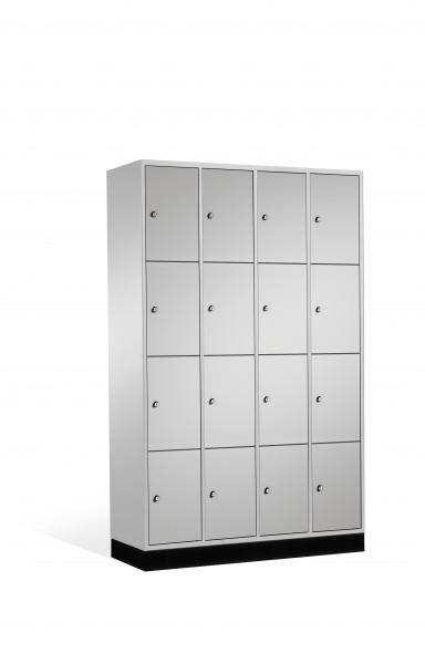 Schließfachschrank Intro, 16 Fächer, 195x122x50cm