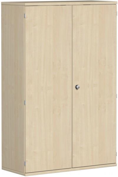 Garderobenschrank mit ausziehbarem Garderobenhalter, 100x42x154cm, Ahorn