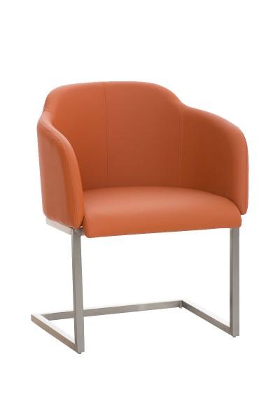 Besucherstuhl Magnus, orange