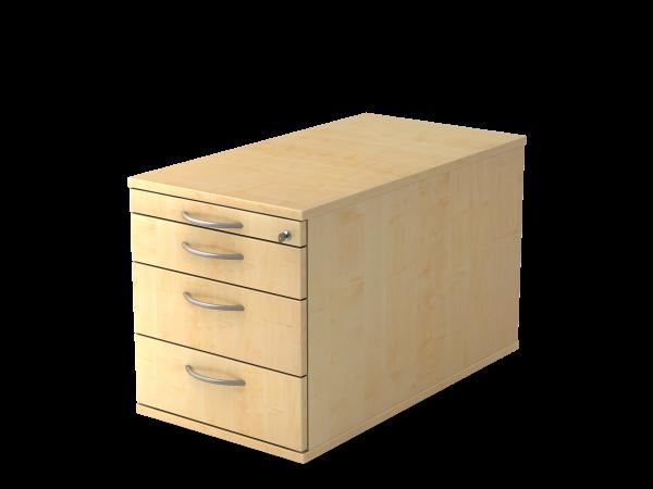 Rollcontainer 3 Schübe 42,8 x 80 x 51,2 cm