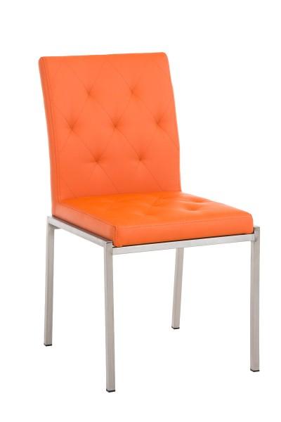 Besucherstuhl Charly, orange