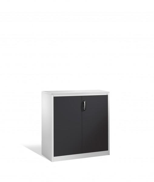 Akten-Sideboard Acurado mit Drehtüren, 3 Ordnerhöhen, 120x120x50cm