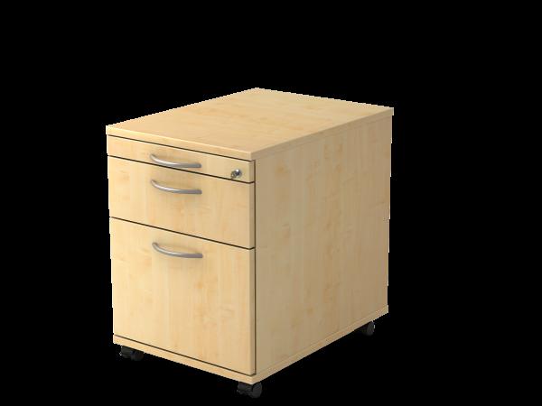 Rollcontainer 1 Schub 1 Hängeregistratur 42,8 x 58 x 59 cm