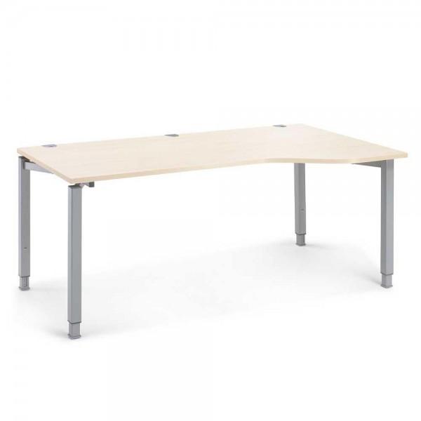 Schreibtisch Freiform CONCEPT MODUL 180x80/100x68-82 cm