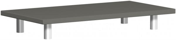 Aufsatzplatte, 80x42x11cm, Graphit