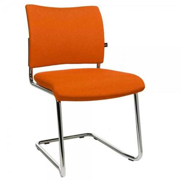 Besucherschwinger LAS VEGAS Bezug Stoff Basic G, orange