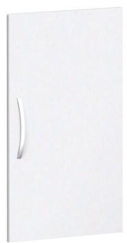 Flügeltür für Korpusbreite 40 cm, 2 OH, Weiß