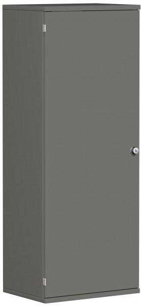Garderobenschrank mit ausziehbarem Garderobenhalter, 60x42x154cm, Graphit