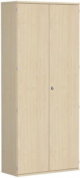 Garderobenschrank mit ausziehbarem Garderobenhalter, 100x42x230cm, Ahorn