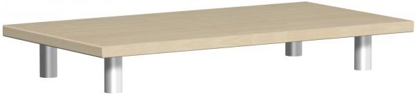 Aufsatzplatte, 80x42x11cm, Ahorn