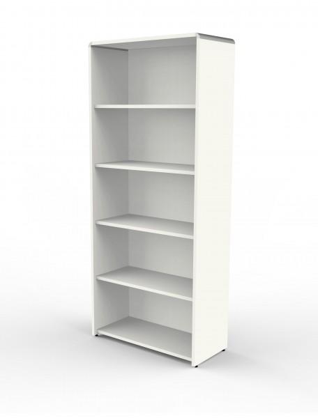 Einzelregal Modus 80x38x185cm, Weiß