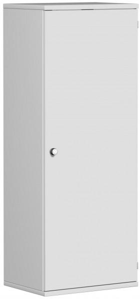 Garderobenschrank mit ausziehbarem Garderobenhalter, 60x42x154cm, Lichtgrau