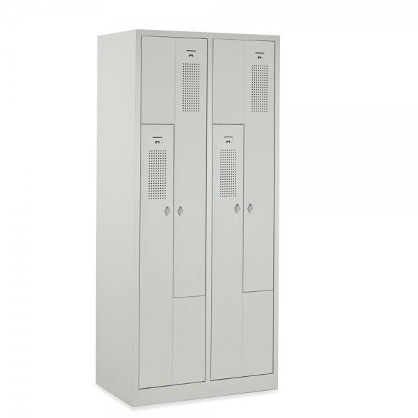 Garderoben-/Stahlspind Serie Z 59x180x50 cm