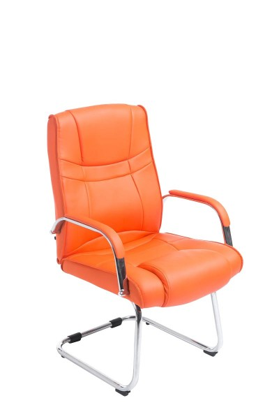 Besucherstuhl Attila, orange