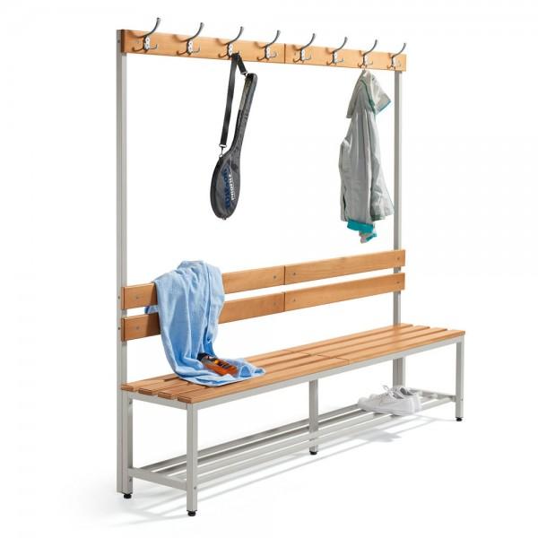Sitz- und Garderobenbank 185x200x39,5 cm