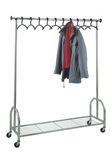 Garderobenwagen Chromo