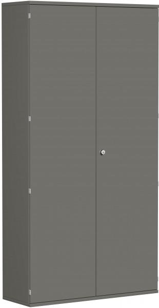 Garderobenschrank mit ausziehbarem Garderobenhalter, 120x42x230cm, Graphit