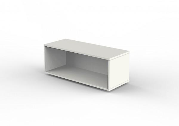 Aufsatzregal für Schiebetürenschränke 1 OH 100 x 40 x 36 cm Weiß