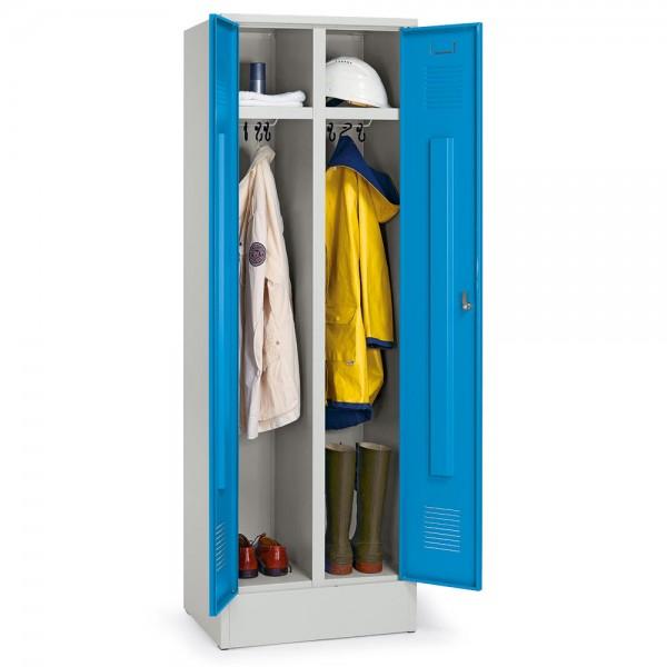 Garderoben-Stahlspinde für Arbeitsstätten 185x60x50 cm