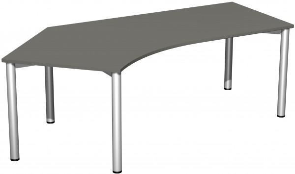 Schreibtisch 135° links 216 x 113 cm