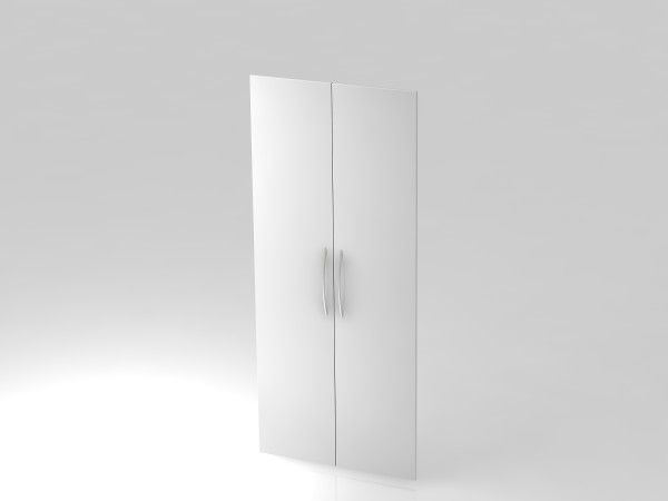 Paar Türen,5 OH, BM, Weiß