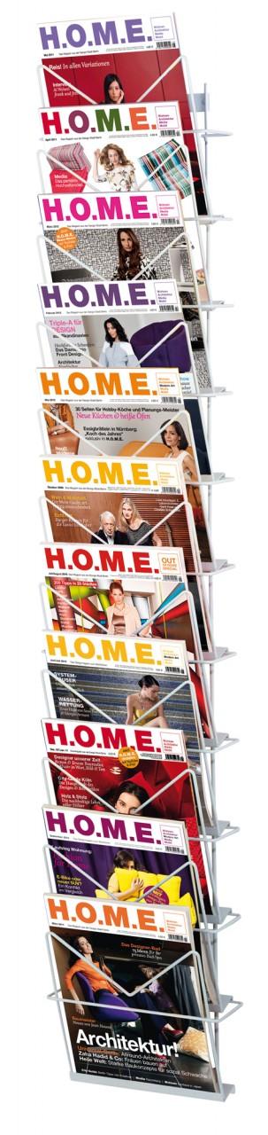 Zeitschriften-Wandhalter