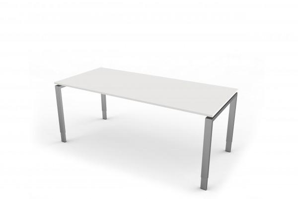 Schreibtisch mit 4-Bein-Gestell 180 x 80 cm