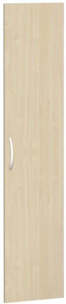 Flügeltür für Korpusbreite 40 cm, 5 OH, Ahorn