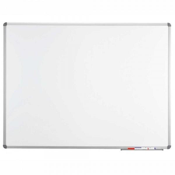 Weißwandtafel DESKIN-BOARD BUSINESS Emaille 120 x 300 x 3 cm