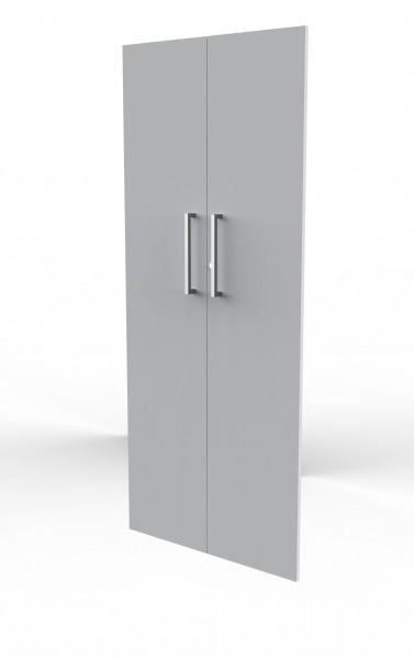 Vorbautüren Modus für 5 OH, lichtgrau