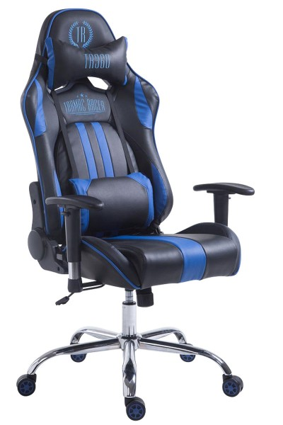 Racing Bürostuhl Limit, schwarz/blau