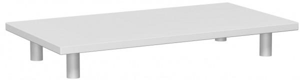 Aufsatzplatte, 80x40cm, Lichtgrau