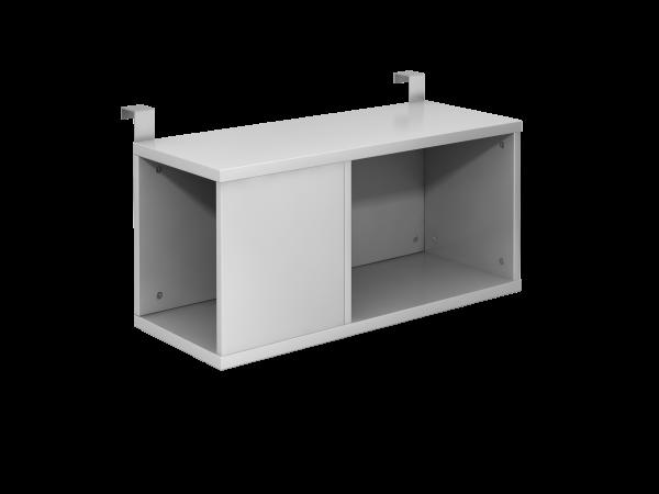 Einhängebox, 80cm tief, Silber