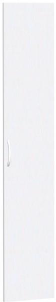 Flügeltür für Korpusbreite 40 cm, 6 OH, Weiß