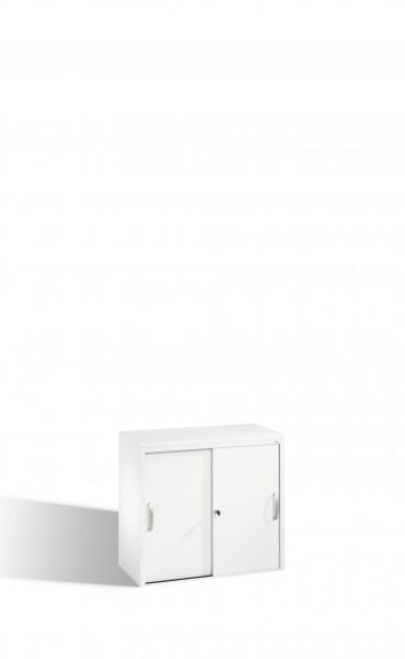 Akten-Sideboard Acurado mit Schiebetüren, 2 Ordnerhöhen, 720x80x40cm