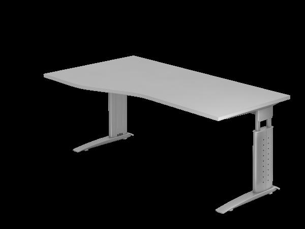 Schreibtisch C-Gestell 180 x 100/80 cm