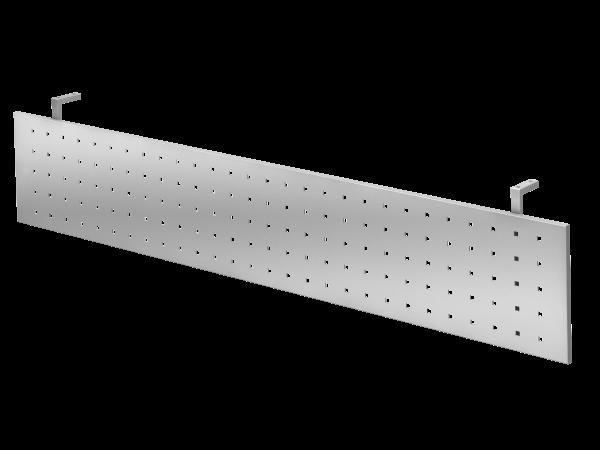 Sichtblende H=40cm 200cm, Silber