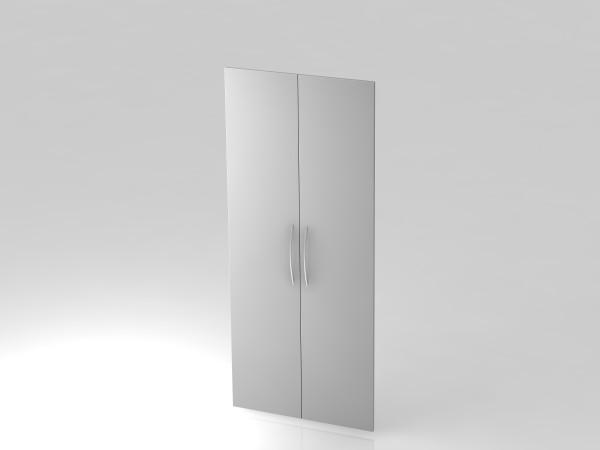 Paar Türen,5 OH, BM, Grau