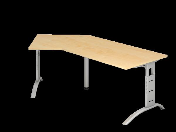 Winkeltisch 135° C-Fuß 210 x 113 cm