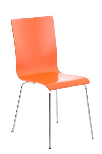 Besucherstuhl Pepe, orange