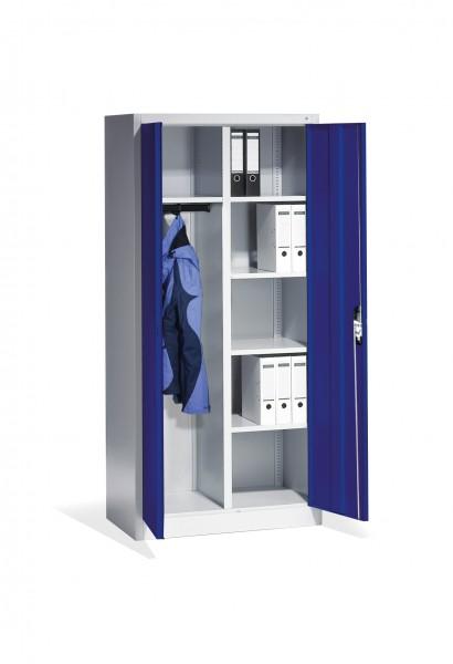 Akten-Garderobenschrank Acurado mit Drehtüren, H1950xB93x50cm