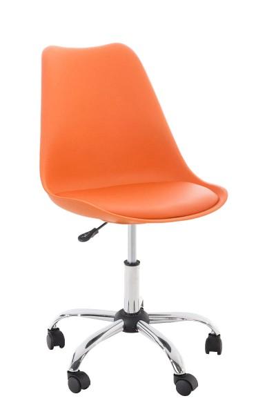 Bürostuhl Pegleg, orange