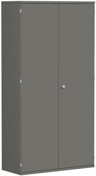 Garderobenschrank mit ausziehbarem Garderobenhalter, 100x42x192cm, Graphit