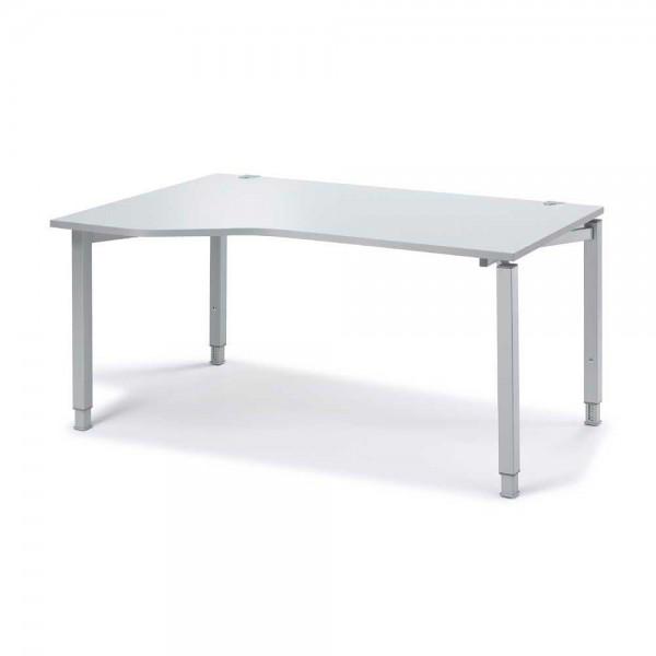Schreibtisch Freiform CONCEPT MODUL 160x100/80x68-82 cm