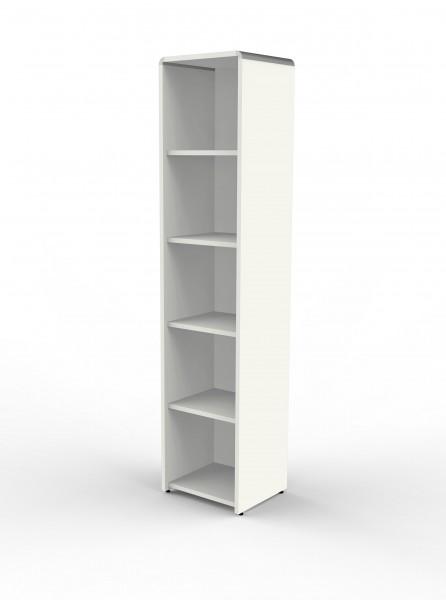 Einzelregal Modus 40x38x185cm, Weiß
