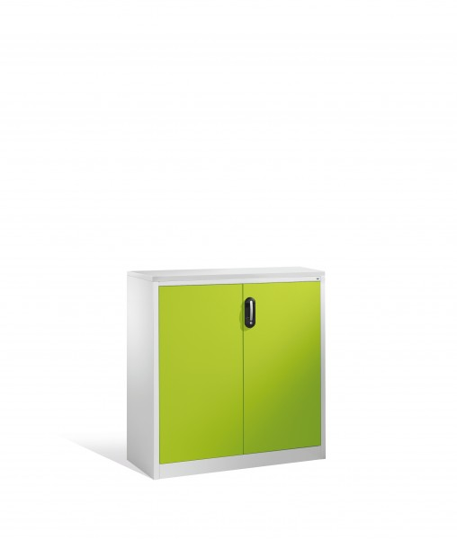 Akten-Sideboard Acurado mit Drehtüren, 3 Ordnerhöhen, 120x120x40cm