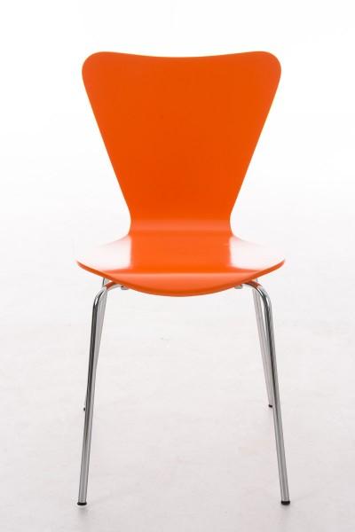 Besucherstuhl Calisto Orange
