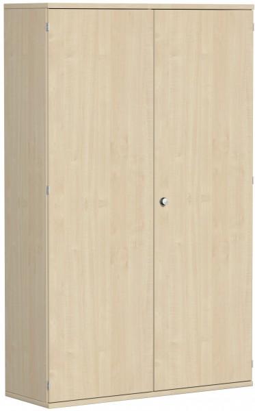 Garderobenschrank mit ausziehbarem Garderobenhalter, 120x42x192cm, Ahorn